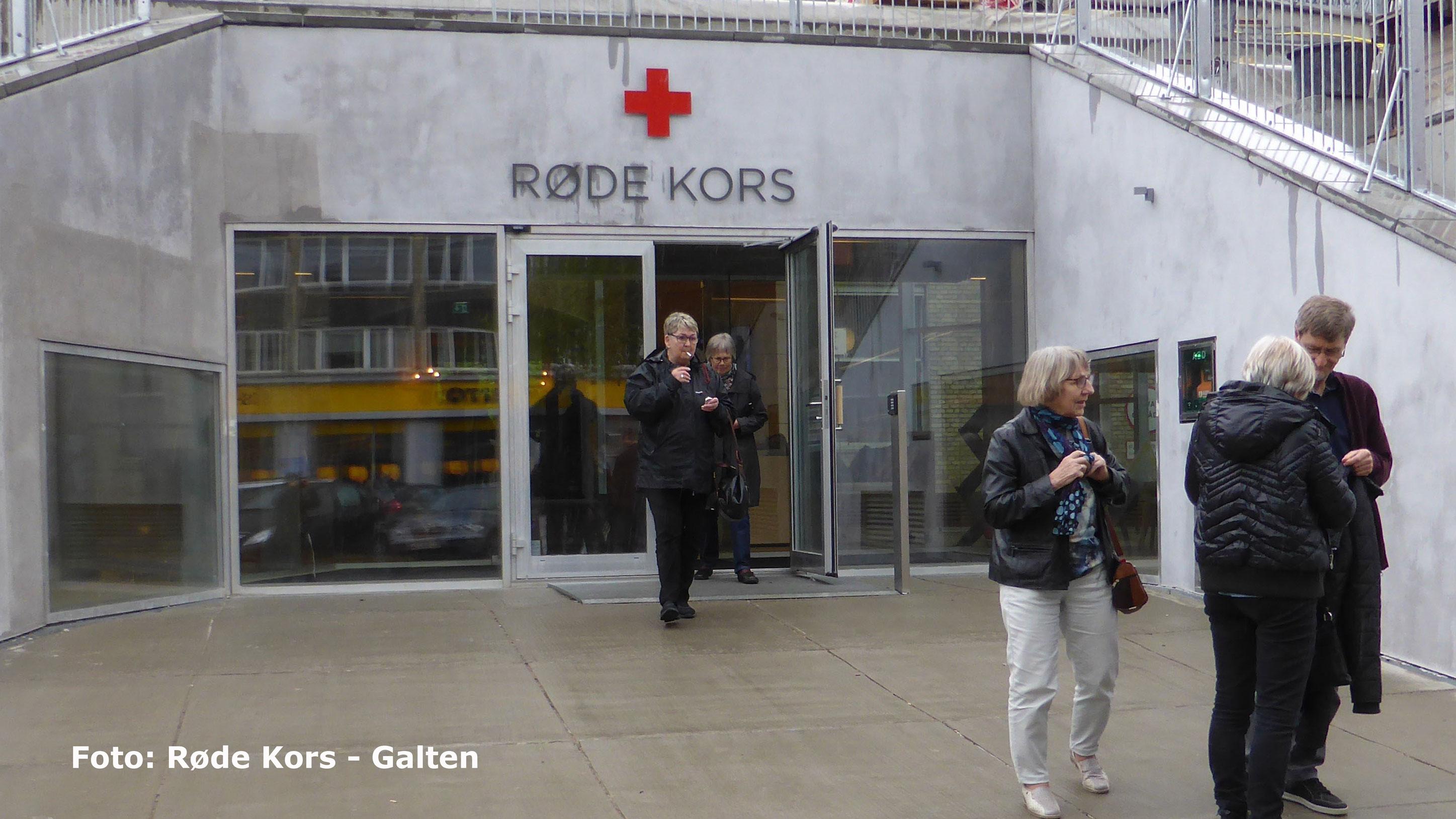 frivilligt arbejde røde kors